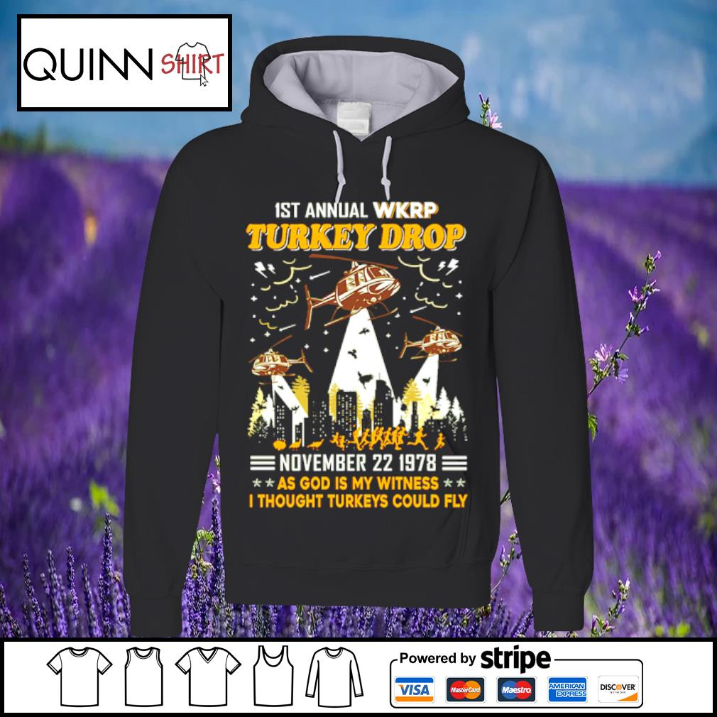 1st annual turkey drop s Hoodie