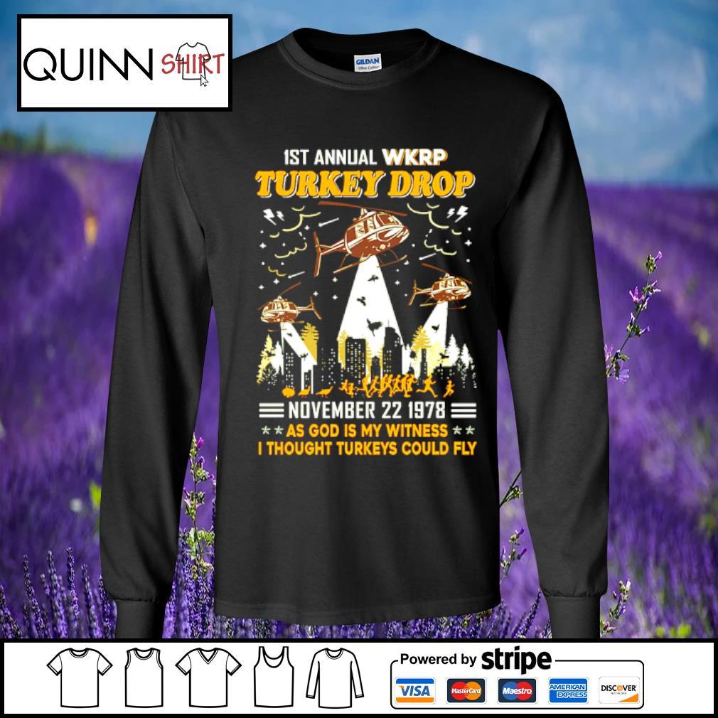 1st annual turkey drop s Long Sleeve Tee