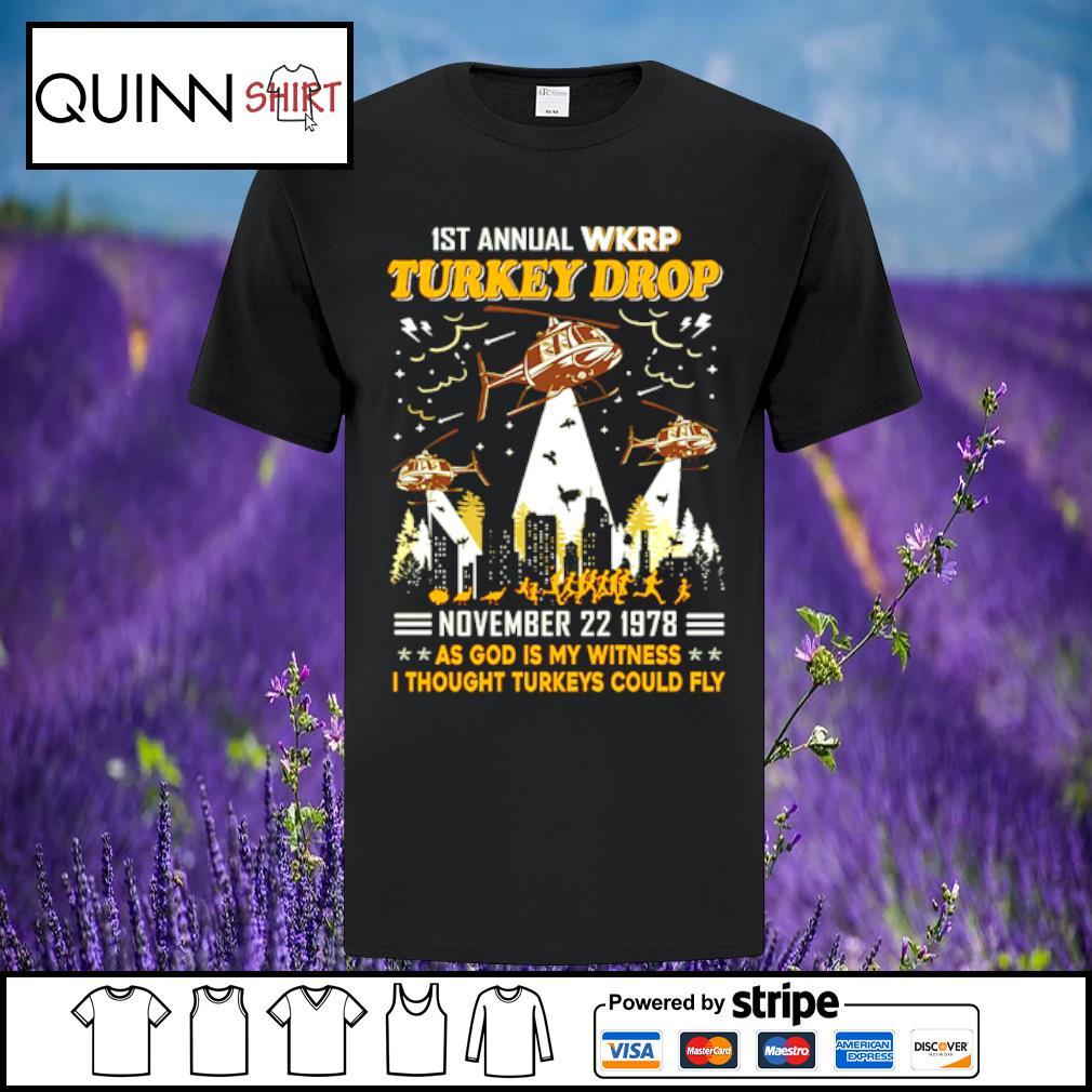 1st annual turkey drop shirt